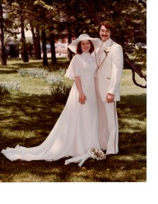Our Wedding May 8, 1976 Martha-Mary Chapel, Greenfield Village