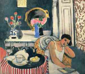 Woman Reading - Henri Matisse